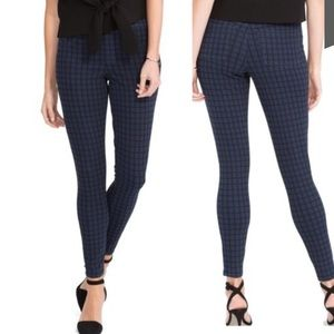 SPANX Jean-ish Shaping Leggings Lapis Night Check